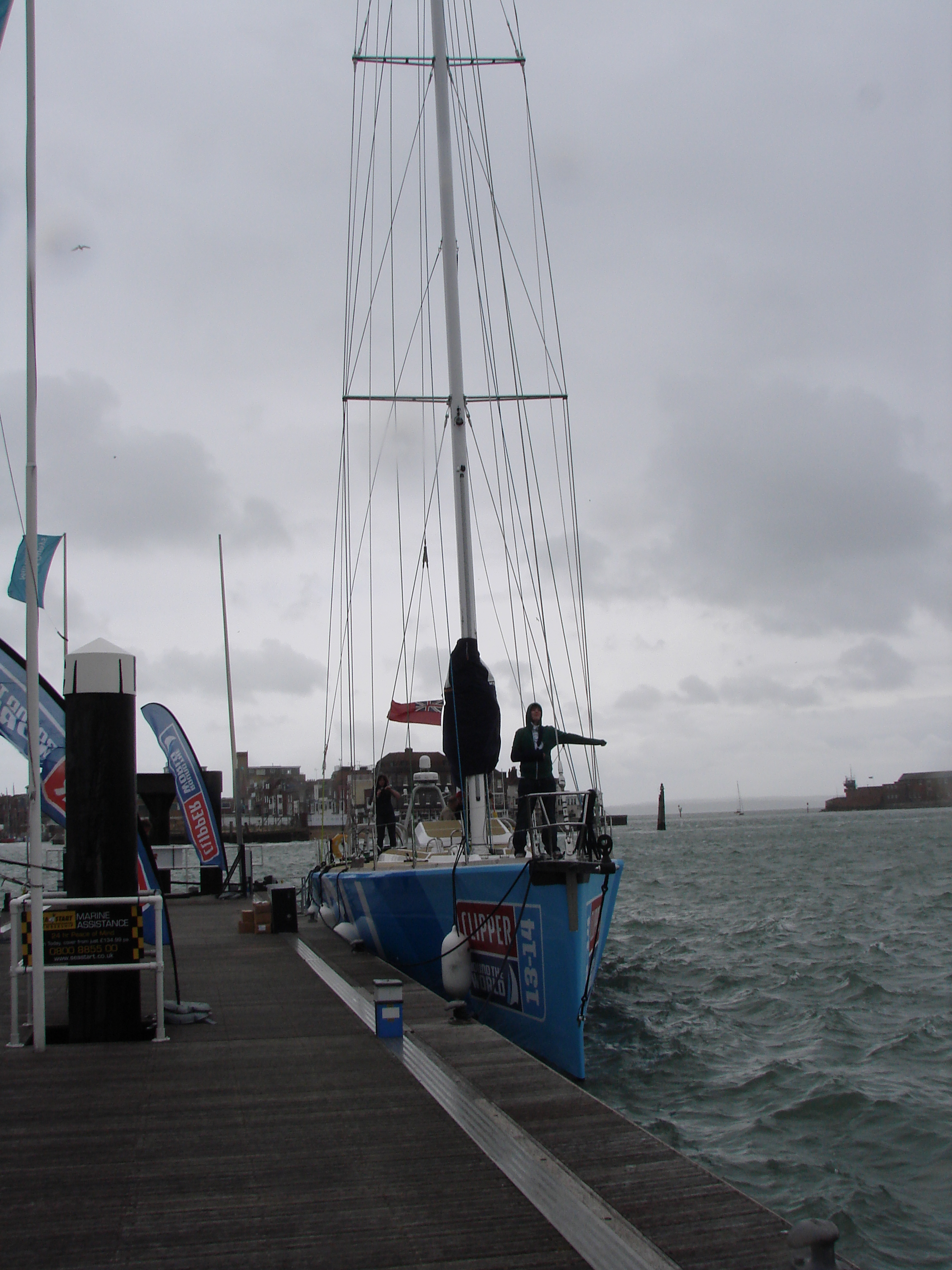 Clipper 70 (in the cold)