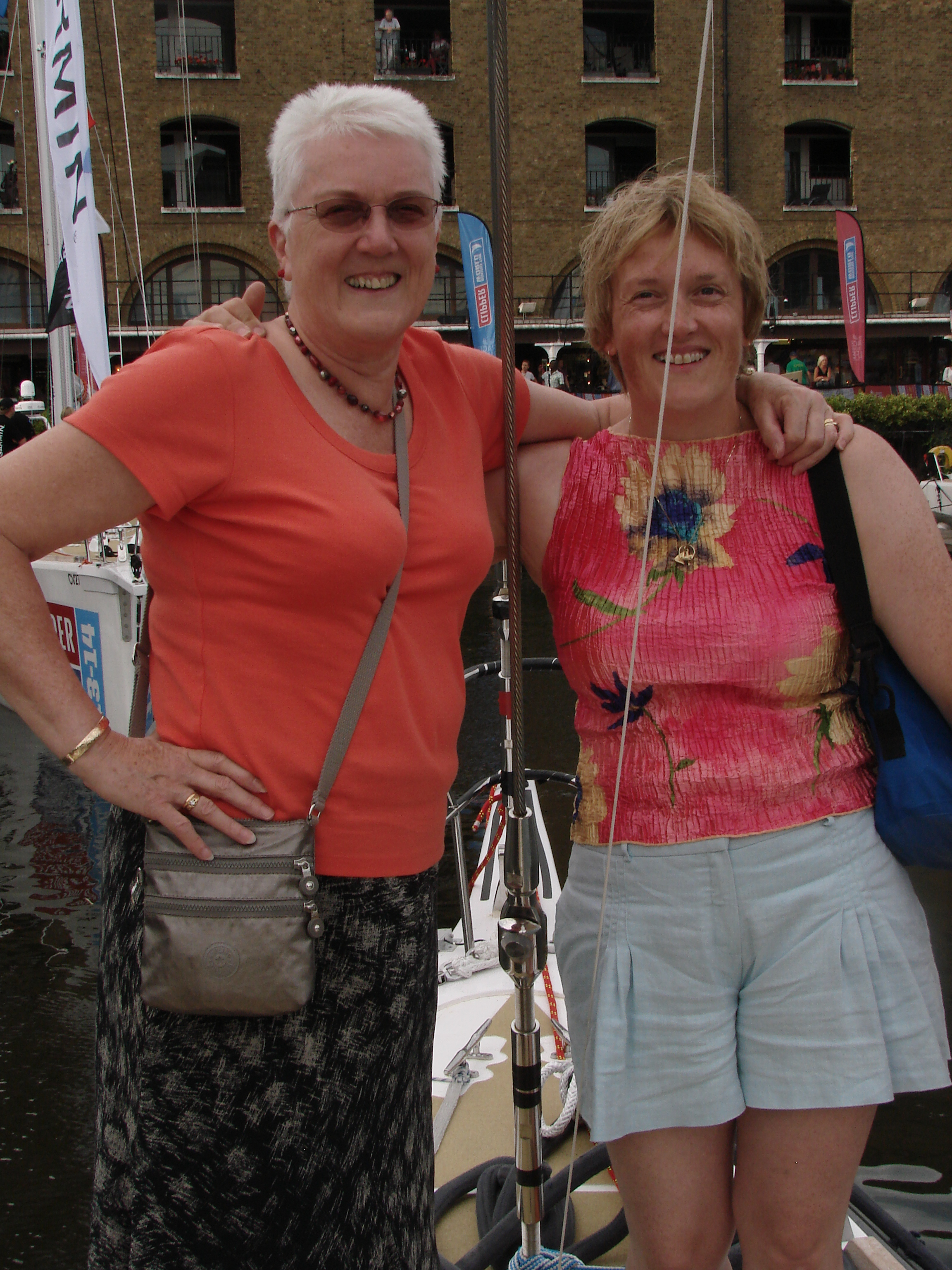 Anita and Lynne