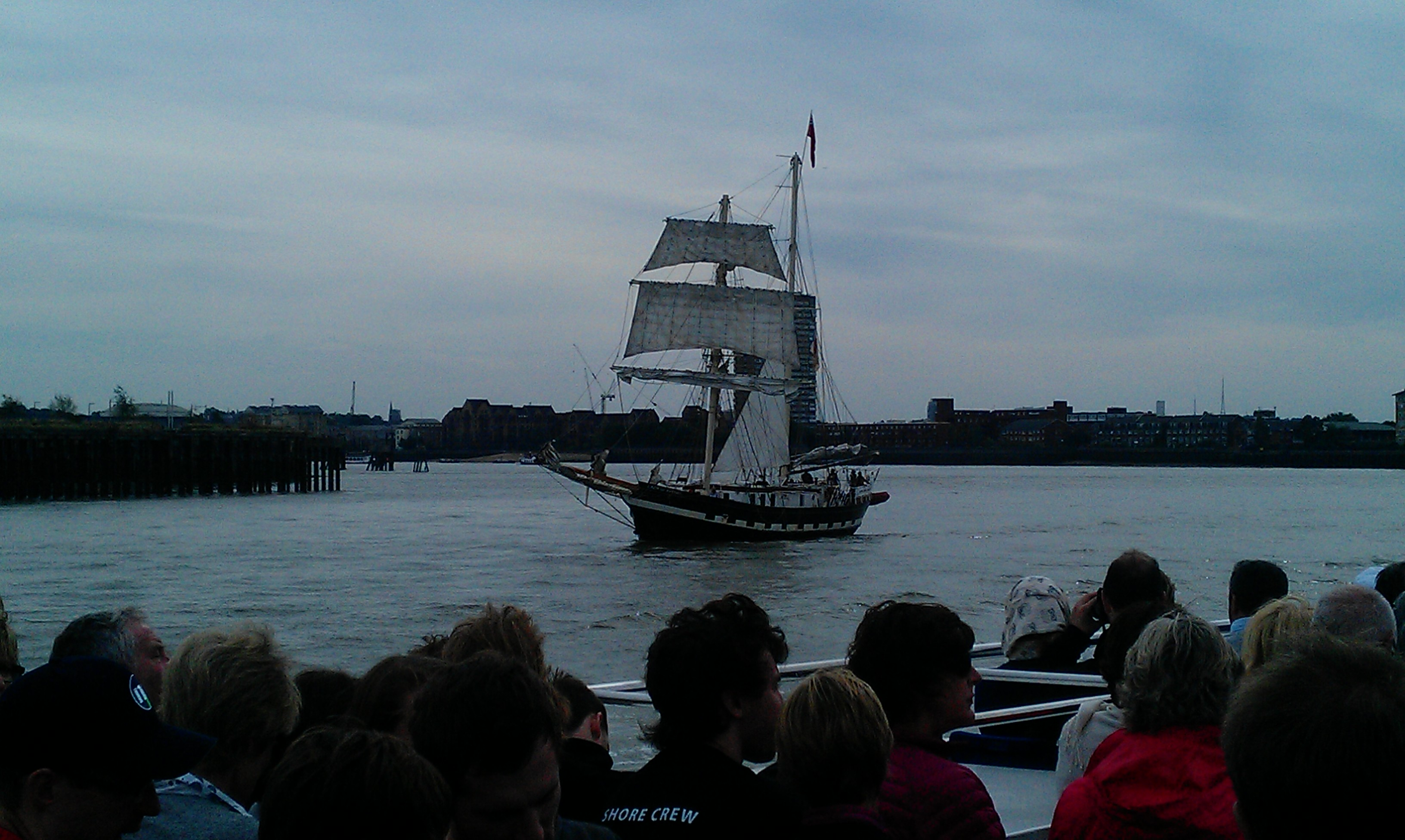 Tall Ship on the Thames