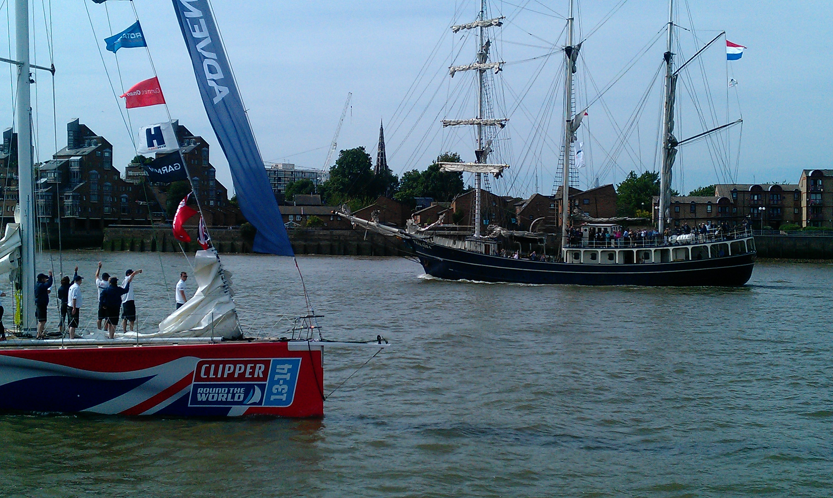 Tall Ship and GREAT Britain