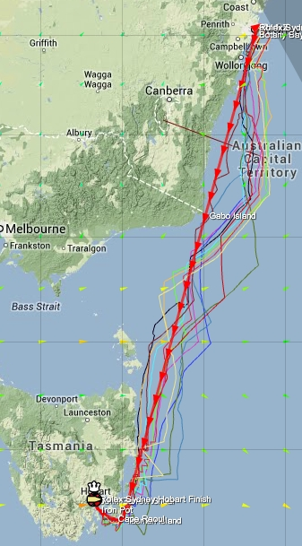 Leg 4, Race 6, Rolex Sydney to Hobart Race