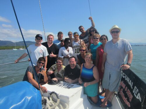 Sailing and Snorkelling in Cairns