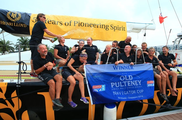 The Old Pulteney Navigator Cup Winners in Singapore