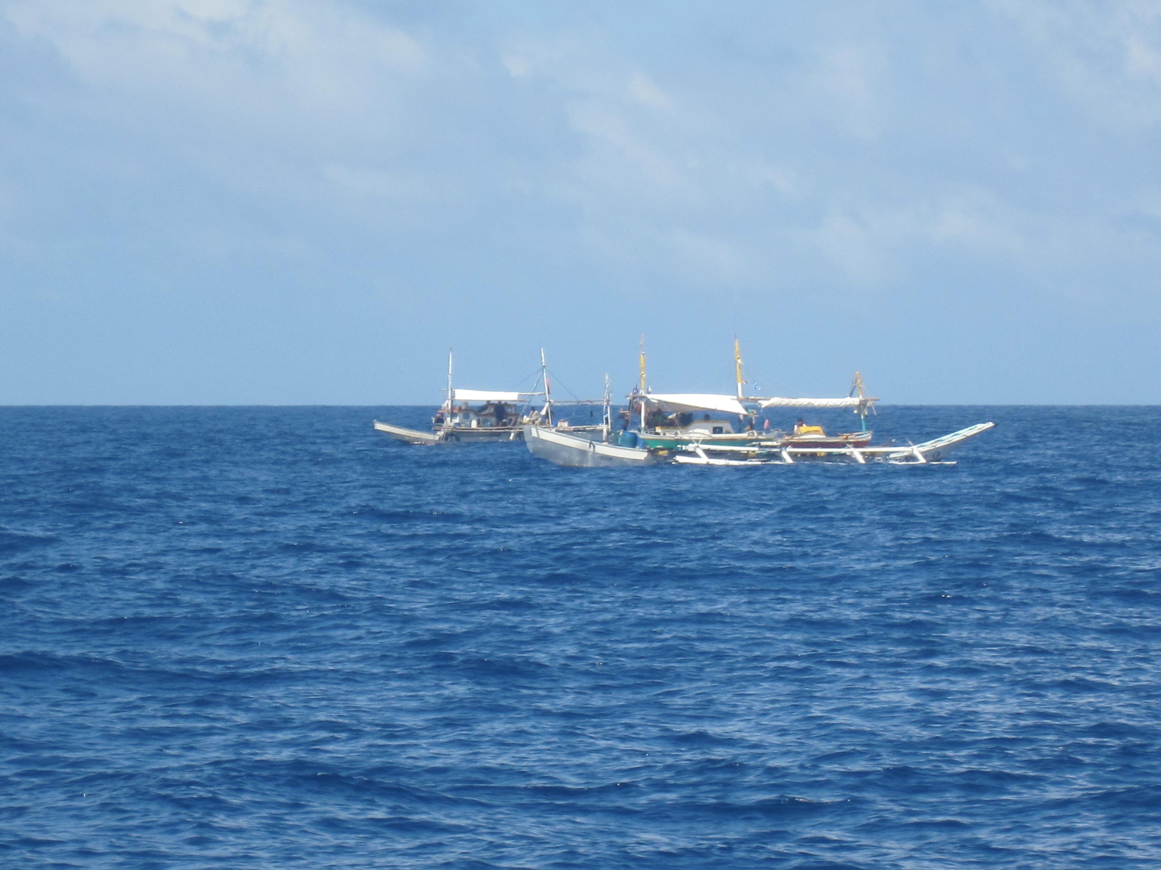 A Philippine fishing vessel